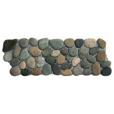 Rustic Accent Trim And Border Tile by Pebble Tile Shop