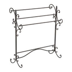 Bolton Iron Blanket Rack