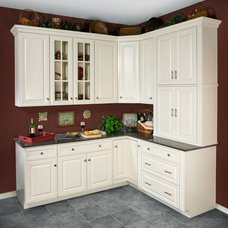Contemporary Kitchen Cabinetry by Jim Walker / Kitchen and Bath Designer