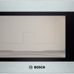 """Bosch - 500 Series HMB5050 24"""" 2.1 cu. ft. Capacity Built In Microwave with 1 200 Cookin - Bosch brings you only the best this 21 cu ft Built-in Microwave will complete your kitchen With 1200 Cooking Watts you will be able to cook dishes quickly and evenly The 10 Power Levels will help you cook a variety of foods with the push of a button ..."""