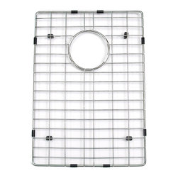 "Executive Stainless Steel Sink Grid for Narrow Sink - This stainless steel sink grid is specially designed for the 15"" Executive Zero-Radius Narrow Sink."