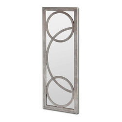 #N/A - Interestal - Interestal. Wooden Mirror. Width: 24.2 in. Depth: 2 in. Height: 64 in.