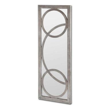 #N/A - Interestal - Interestal. Wooden Mirror. Width: 24.2 in. Depth: 2 in. Height: 64 in.