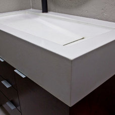 Contemporary Bathroom Sinks by Epic Artisan Concrete