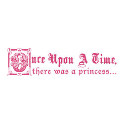 Dana Decals - Once Upon A Time Fairy Tale Quote Wall Decal - Ideal for homes, kids rooms, and schools.