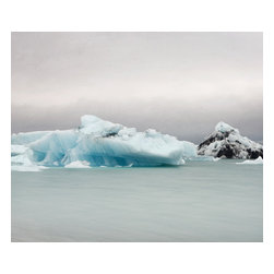 ArtStar - The Frozen Lake #2  11x14  Face mounted - All prints are signed and numbered on a card of authenticity