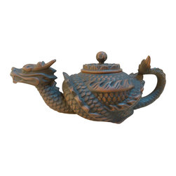 Mythical - The Tea Set - this mythical beast is just the crafted piece of art you need to absolutely blow your guests away. handmade by trained artisans, this tea set is stunning in its detail and fantasy-like quality. let this work of art tell you its story.
