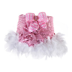 Brandi Renee Designs - All Lit Up Princess Harlequin Lamp Shade - Our charming pink and white All Lit Up Princess Harlequin lampshade is a fun addition to a little girl�s room. We wrapped this shade in an iridescent pink fabric, added a spunky pink and white checked bow to the back, and finished the shade off with a fun white feather bottom. Our pink bow features a beautiful oval �diamond� jewel clip. Like every BRDesign lampshade, our All Lit Up Princess Harlequin lampshade is handcrafted from the finest quality materials.