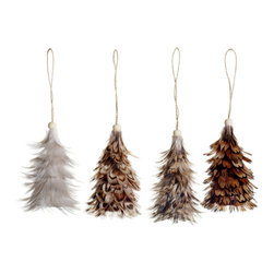 Silk Plants Direct - Silk Plants Direct Feather Tree Ornament (Pack of 6) - Pack of 6. Silk Plants Direct specializes in manufacturing, design and supply of the most life-like, premium quality artificial plants, trees, flowers, arrangements, topiaries and containers for home, office and commercial use. Our Feather Tree Ornament includes the following: