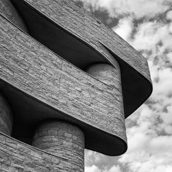 """Fine Art Photography for Interior Space, Black & White, 18"""" X 24"""" - National Museum of the American Indian, Washington DC"""