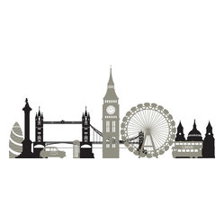 London Calling Wall Art Decal Kit