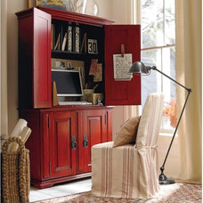 traditional bookcases cabinets and computer armoires by Pottery Barn