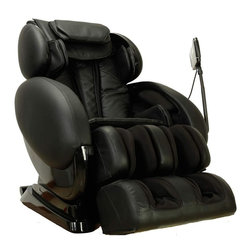 Infinity - Infinity IT 8500 Massage Chair - Black - Massage Functions: . Shiatsu. Kneading. Tapping. Combination. Swedish. Rolling. Recline Positions: . Zero Gravity. Inversion Therapy. Leg E
