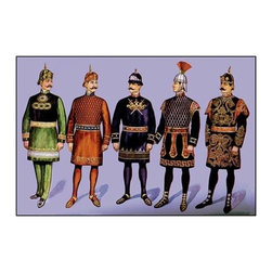 """Buyenlarge.com, Inc. - Odd Fellows: Officers - Canvas Poster 20"""" x 30"""" - Another high quality vintage art reproduction by Buyenlarge. One of many rare and wonderful images brought forward in time. I hope they bring you pleasure each and every time you look at them."""