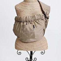 Balboa Baby - Adjustable Baby Sling in Signature Khaki with Embroidery - Adjustable Baby Sling in Signature Khaki with Embroidery