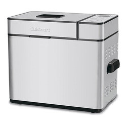 Cuisinart - Cuisinart CBK-100 Programmable Breadmaker - Wake up to the smell of freshly baked bread with this programmable bread machine. Simply add the ingredients,and the breadmaker will mix them,knead the dough,let it rise,and bake it to perfection.