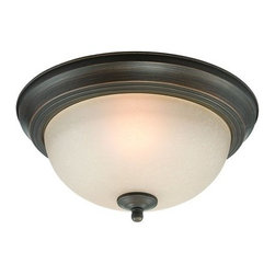 Jeremiah Lighting - Jeremiah Lighting 20011 1 Light Flush Mount Ceiling Fixture - Specifications: