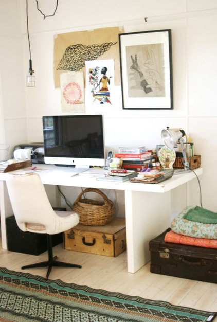 eclectic home office my home