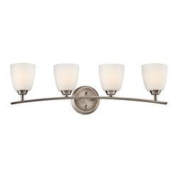 "Kichler - Kichler 45361BPT Granby 32.71"" Wide 4-Bulb Bathroom Lighting Fixture - Product Features:"