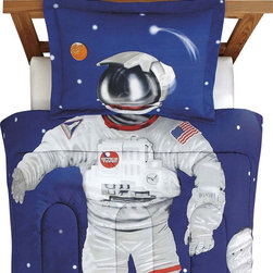 CHF Industries Inc - Astronaut Full Comforter Set Space Suit Bedding - FEATURES:
