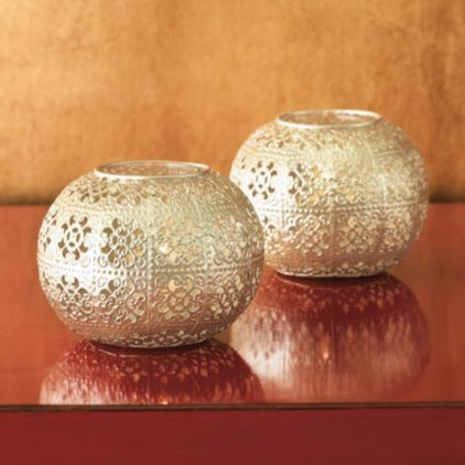 modern candles and candle holders by Gump's