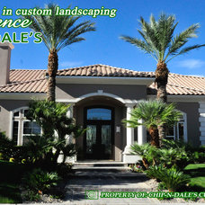 Tropical Landscape by CHIP-N-DALE'S CUSTOM LANDSCAPING
