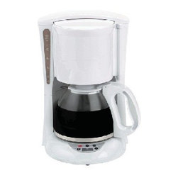 Brentwood 12 Cup Digital Coffee Maker White - About Brentwood Appliances, Inc.With a product line spanning from coffee makers and can openers to Dutch ovens, sauce pans, and more, Brentwood Appliances, Inc. proudly offers an excellent selection of small appliances and cookware. Committed to keeping customers satisfied, Brentwood Appliances focuses on providing best-quality, best-priced products and top-notch customer service.