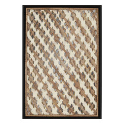 Paragon - Amate Lattice - Framed Art - Each product is custom made upon order so there might be small variations from the picture displayed. No two pieces are exactly alike.