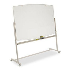 Quartet 72 x 48 in. Dry Erase Mobile Presentation Easel - The Quartet 72 x 48 in. Dry Erase Mobile Presentation Easel is a perfect combination of durability and functionality. Featuring high-quality construction, this easel is durable. With an attractive form, the easel has dry erase surfaces that are stain-free and convenient to use. You can write on both its sides with a single flip. A built-in tray for accessories provides added benefit. This easel also includes four markers and an eraser. An attractive steel frame with a radius-edge offers it enhanced visual appeal.About United StationersDedicated to making life in the office more organized, efficient, and easier, United Stationers offers a wide variety of storage and organizational solutions for any business setting. With premium products specifically designed with the modern office in mind, we're certain you will find the solution you are looking for.From rolling file carts to stationary wall files, every product in the United Stations line is designed with one simple goal: to improve office efficiency. In turn, you will find increased productivity, happier, more organized employees, and an office setting that simply runs better, with the ultimate goal of increasing bottom line profits.