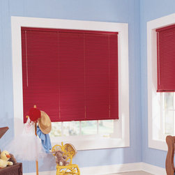 Bali - Bali Customiser 1-inch 6-Gauge Mini Blinds - Bali Customiser mini blinds are the most economical choice in the Bali line of aluminum blinds.