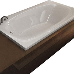 Atlantis Whirlpools 3666P Polaris Bathtub