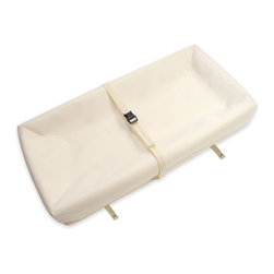 Naturepedic - Organic Cotton Contoured Changing Pad - Organic Cotton Contoured Changing Pad