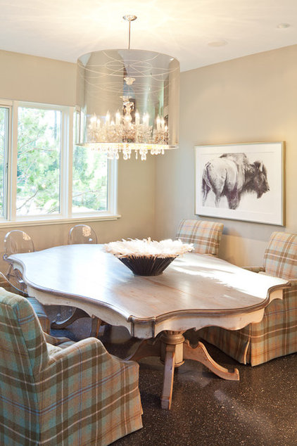 Modern Dining Room by Grace Home Design, Inc.