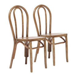 "Zuo - Set of 2 Zuo Nob Hill Natural Chairs - Set of 2 Zuo Nob Hill Natural Chairs. Set of 2. Natural finish. Elm wood construction. Hand-crafted carved and dovetailed elm. No assembly required. Seat is 18 1/4"" high 15 3/4"" wide 15 1/2"" deep. 36"" high. 15 3/4"" wide. 17"" deep.  Set of 2.  Natural finish.  Elm wood construction.  Hand-crafted carved and dovetailed elm.  No assembly required.  Seat is 18 1/4"" high 15 3/4"" wide 15 1/2"" deep.  36"" high.  15 3/4"" wide.  17"" deep."