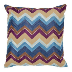 Spring & Spruce - Gibraltar Pillow- Plum - Chevrons are everywhere right now, and while we love the trend we are always looking to take it somewhere new.  Our Gibraltar pillow does just that by embroidering chevrons, adding texture to a traditional color accent.  Gibraltar also pairs great with the rest of our embroidered collection, Calabasas, Adonis, Alexandria, & Borelli, creating a curated set that you can't miss with!