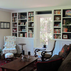 Traditional Family Room by Iris Interiors