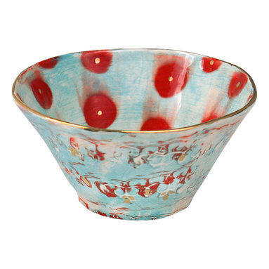 Happy Clay - Handmade Ceramic Bowl - soup/cereal - in Gypsy Queen - Elegant. Ageless. Contemporary.