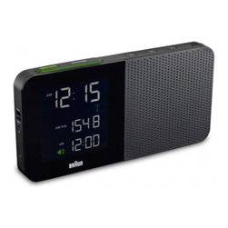 New Braun Digital Alarm Clocks - Braun's new digital table clock collection makes use of updated technologies without losing the design discipline of Braun's golden era. While the first round of travel alarm clocks were based on pre-existing Lubs designs from the 1980s and 1990s, the digital table clocks are brand new designs under the direction of Markus Orthey, a senior designer with Braun and Gillette in Germany.