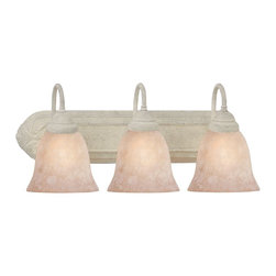 Designers Fountain - Designers Fountain Mix and Match Vanity / Bathroom Light X-AS-302B - A variety of decorative bracket design are offered to match with a choice of optional glass styles, as shown in additional images, to create a customized look in bath or vanity areas.