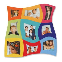Kito - 13 Inch Durable 9 in 1 Magnetic Felt Photo Frame with Stand - This gorgeous 13 Inch Durable 9 in 1 Magnetic Felt Photo Frame with Stand has the finest details and highest quality you will find anywhere! 13 Inch Durable 9 in 1 Magnetic Felt Photo Frame with Stand is truly remarkable.