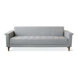 Gus Modern Harbord Sofa, Totem Pebble