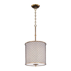 Maxim Lighting - Maxim Lighting 22367OMNAB Manchester 4 Light Pendants in Natural Aged Brass - This 4 light Single Pendant from the Manchester collection by Maxim will enhance your home with a perfect mix of form and function. The features include a Natural Aged Brass finish applied by experts. This item qualifies for free shipping!