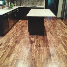 Contemporary Kitchen by Unique Wood Floors