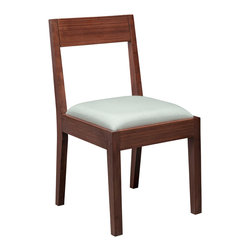 Greenington - Greenington Hazel Upholstered Chair in Classic Bamboo [Set of 2] - Upholstered Chair in Classic Bamboo belongs to Hazel Collection by Greenington Simplicity, crafted at it's highest level of quality in this, The Hazel Dining Collection.