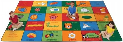 Contemporary Kids Rugs by Amazon