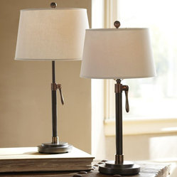 Sutter Adjustable Lever Lamp Base