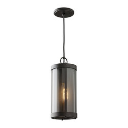 Murray Feiss - Murray Feiss Bluffton Transitional Mini Pendant Light X-BRO2921P - Inspired by mountain luxe trends, the transitional Bluffton Collection has a perforated screen shade much like that of a cozy fireplace&#8212:with decorative hooks and rods adding to the unique, rustic details. Using antique-style bulbs furthers the warm and inviting look.