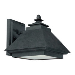 Capital Lighting - Capital Lighting 9092-GD 1 Light Dark Sky Energy Saving Outdoor Wall Lantern fro - Capital Lighting 9092-GD Outdoor Collection 1 Light Dark Sky Energy Saving Outdoor Wall LanternLooking to save energy in style? This outdoor wall sconce features Dark Sky functionality while it provides traditional style and energy savings with the use of energy saving fluorescent bulbs.Features:
