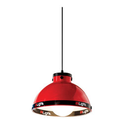 "Cilek - Turbo Ceiling Light - The Ceiling Light is part of the ""Need for Sleep"" edition of Turbo Beds. Beautifully crafted by Cilek, this red ceiling light can be a great addition to the Turbo Beds themed bedroom. Astonishing details and vibrant color."