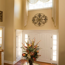 Traditional Entry by Decorating Den Interiors - Susan Keefe, C.I.D.